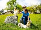 Griseldis Felsberger liebt ihre Tiere ©Wirlphoto