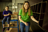 Hühnerhaltung war bislang ein wichtiger Betriebszweig, der nun aber aufgegeben werden soll ©Wirlphoto