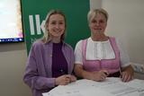 Maria Linsinger unterzeichnete für BIO AUSTRIA Salzburg die Charta.jpg