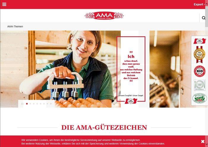AMA-Neue Webseite
