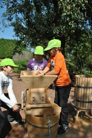 Apfelsaftpressen - Betrieb Lendl