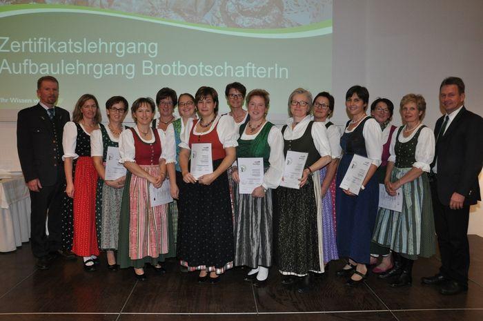 Brotbotschafterinnen © LFI Steiermark/Franz Kern
