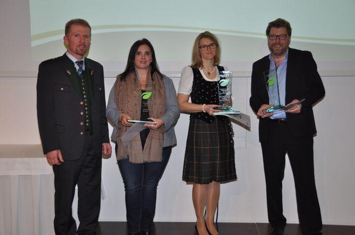 TrainerawardgewinnerInnen © LFI Steiermark/Franz Kern