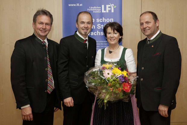Vorsitzübergabe LFI Österreich