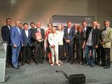 Jury und Preisträger © Gerald Pfabigan