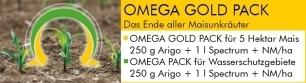 Kwizda Banner Omega Gold Pack und Omega ©Archiv