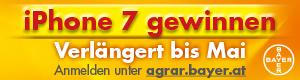 Werbebanner Bayer ©Archiv