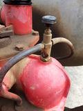 Am Schauglas kann man die Funktion des Ölers überprüfen.