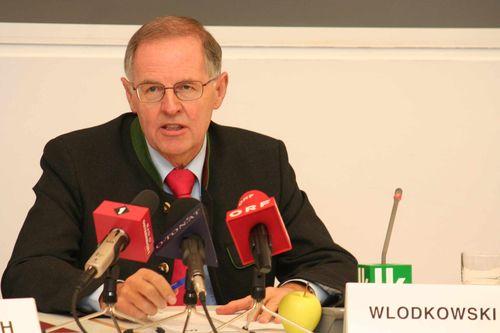 Wlodkowski: Bauerneinkommen 2008 um 4,5 Prozent gesunken