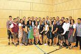 Neue Facharbeiter der 3a der LFS Goldbrunnhof. ©Archiv