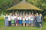 Die Absolventinnen der LFS Drauhofen. ©Archiv