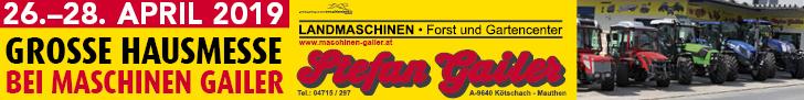 Gailer Hausmesse Superbanner © Gailer