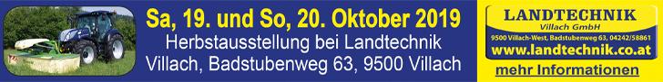 Landtechnik Villach Superbanner Herbstaustellung © Landtechnik Villach